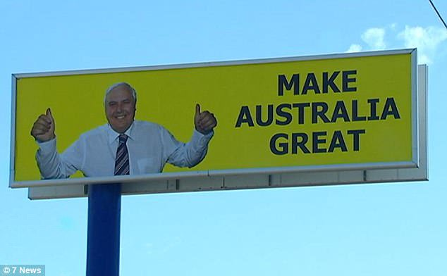 Clive Palmer, Make Australia Great