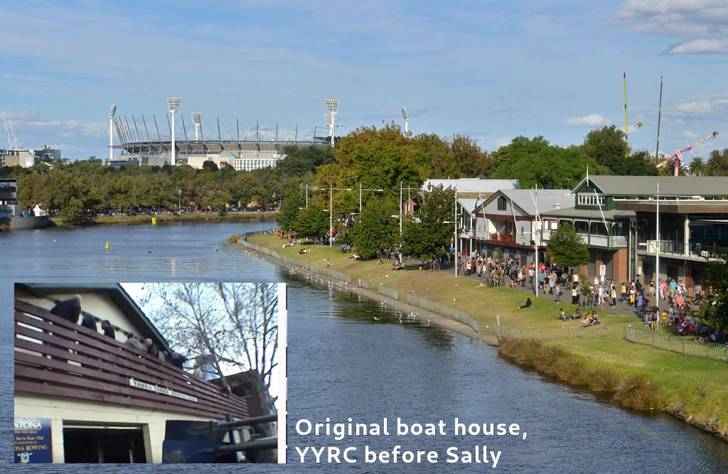 YYRC, old club house, boathouse drive
