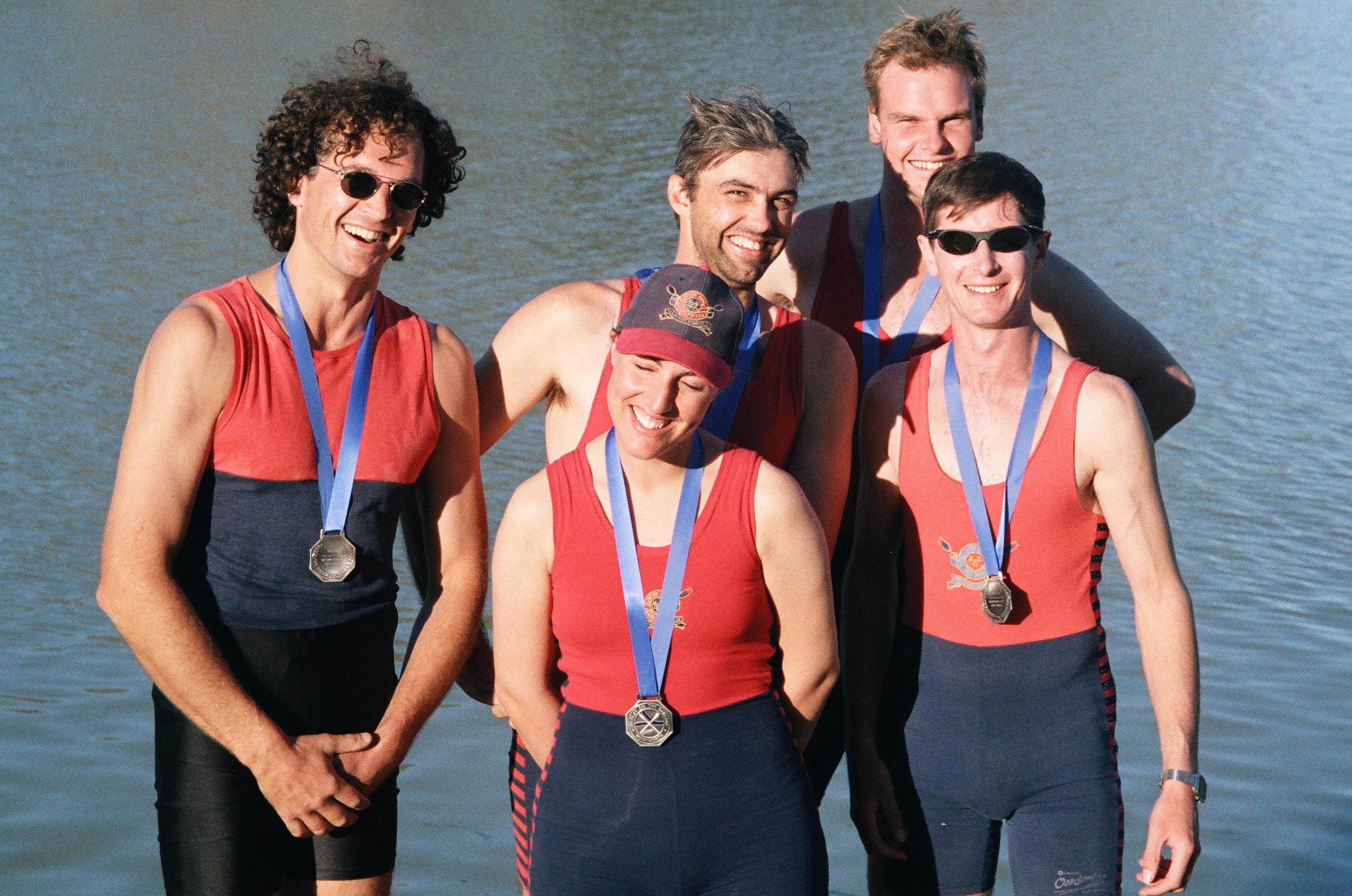 YYRC, Sally Shaw, winning medals