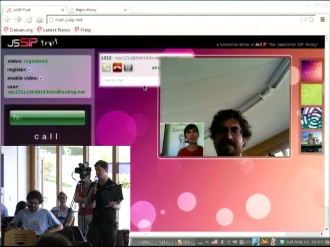 DebConf13: breakthroughs in OTP and WebRTC | DanielPocock com
